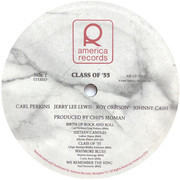 Double LP - Carl Perkins , Jerry Lee Lewis , Roy Orbison , Johnny Cash - Class Of '55 - Memphis Rock & Roll Homecoming