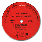 LP - Carl Perkins - My Kind Of Country