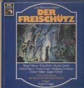 LP-Box - Carl Maria von Weber/ R. Heger, B. Nilsson, E. Köth, N. Gedda - Der Freischütz - booklet with libretto