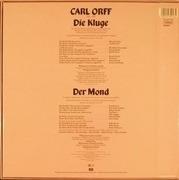 LP-Box - Carl Orff - Elisabeth Schwarzkopf , Marcel Cordes , Paul Kuen , Hermann Prey , Benno Kusche , Gusta - Der Mond Die Kluge - box + booklet