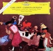 LP - Carl Orff/ E. Jochum, G. Janowitz, G. Stolze , D. Fischer-Dieskau - Carmina Burana - Gatefold, tulip rim, booklet with the lyrics