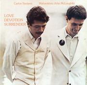 CD - Carlos Santana / John McLaughlin - Love Devotion Surrender