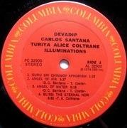 LP - Devadip Carlos Santana & Turiya Alice Coltrane - Illuminations