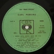 LP - Carl Perkins - Whole Lotta Shakin' Goin' On