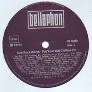 LP - Carl Perkins, Jack Earls, Roy Orbison - Sun Rockabillys - Put Your Cat Clothes On
