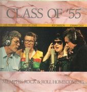 LP - Carl Perkins, Jerry Lee Lewis, Roy Orbison, Johnny Cash - Class Of 55 - Memphis Rock & Roll Homecoming