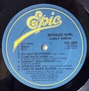 LP - Carly Simon - Spoiled Girl