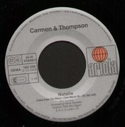 7inch Vinyl Single - Carmen & Thompson - Time Moves On