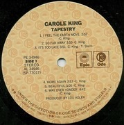 LP - Carole King - Tapestry - Gatefold