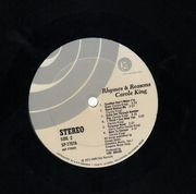 LP - Carole King - Rhymes & Reasons