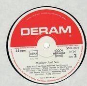 LP - Cat Stevens - Matthew & Son - GERMAN ORIGINAL