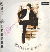 LP - Cat Stevens - Matthew & Son - GERMAN ORIGINAL (SIGNED COPY!)