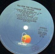 LP - Cat Stevens - Tea For The Tillerman - Italy