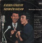 LP - Caterina Valente & Silvio Francesco - Deutsche Evergreens