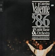 LP - Caterina Valente & The Count Basie Orchestra - Caterina Valente '86