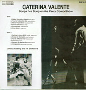 LP - Caterina Valente - In Der Perry-Como-Show