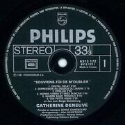 LP - Catherine Deneuve , Serge Gainsbourg - Souviens-toi De M'oublier