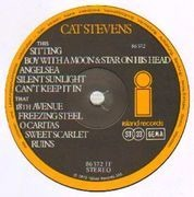 LP - Cat Stevens - Catch Bull At Four - Island Life Collection