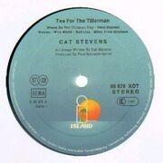 LP - Cat Stevens - Tea For The Tillerman - blue labels