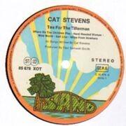 LP - Cat Stevens - Tea For The Tillerman - Orange Rim Labels