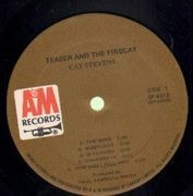 LP - Cat Stevens - Teaser And The Firecat