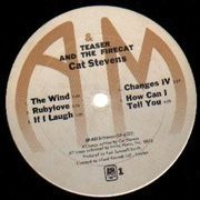 LP - Cat Stevens - Teaser And The Firecat - WHITE LABELS