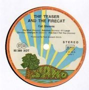 LP - Cat Stevens - Teaser And The Firecat - Orange Rim Labels