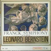 LP - César Franck / Leonard Bernstein , The New York Philharmonic Orchestra - Symphony In D Minor