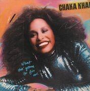 LP - Chaka Khan - What Cha' Gonna Do For Me