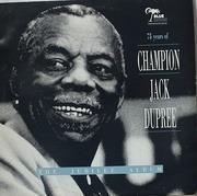 Double LP - Champion Jack Dupree - The  Jubilee Album-75 Years Of Champion Jack Dupree