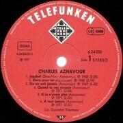 LP - Charles Aznavour - Charles Aznavour