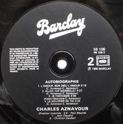 LP - Charles Aznavour - Autobiographie