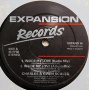 12inch Vinyl Single - Charles & Gwen Scales - Inside My Love
