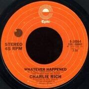 7inch Vinyl Single - Charlie Rich - My Elusive Dreams / Whatever Happened