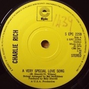 7inch Vinyl Single - Charlie Rich - A Very Special Love Song