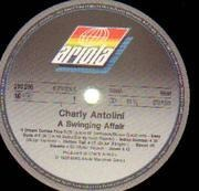 LP - Charly Antolini - A Swinging Affair