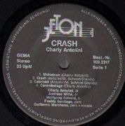 LP - Charly Antolini - Crash - Direct-to-disc Audiophile!