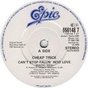7inch Vinyl Single - Cheap Trick - Can't Stop Fallin' Into Love
