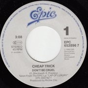 7inch Vinyl Single - Cheap Trick - Don't Be Cruel