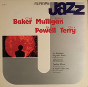 LP - Chet Baker , Gerry Mulligan , Bud Powell , Clark Terry - Europa Jazz