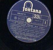 LP - Chet Baker Et The Carmel Strings - Te Graver Dans Ma Vie
