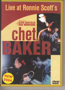 DVD - Chet Baker - Live At Ronnie Scott's