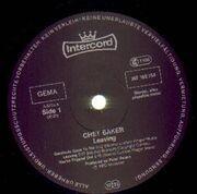 LP - Chet Baker - Leaving