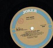LP - Chet Baker - Sextet & Quartet
