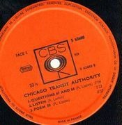 Double LP - Chicago - Chicago Transit Authority - France