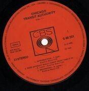 Double LP - Chicago - Chicago Transit Authority