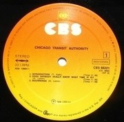 Double LP - Chicago - Chicago Transit Authority - Gatefold