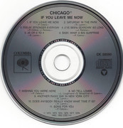 CD - Chicago - If You Leave Me Now