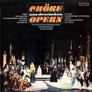 LP - Chor Der Staatsoper Berlin , Staatskapelle Berlin , Otmar Suitner - Chöre Aus Deutschen Opern - black label