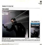 12inch Vinyl Single - Chris De Burgh - Man On The Line